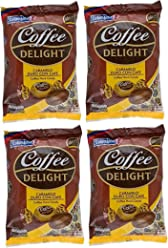 Colombina Coffee Delight Hard Candy 50 Pieces - 4 Pack/Caramelo De Cafe 50 Pieces