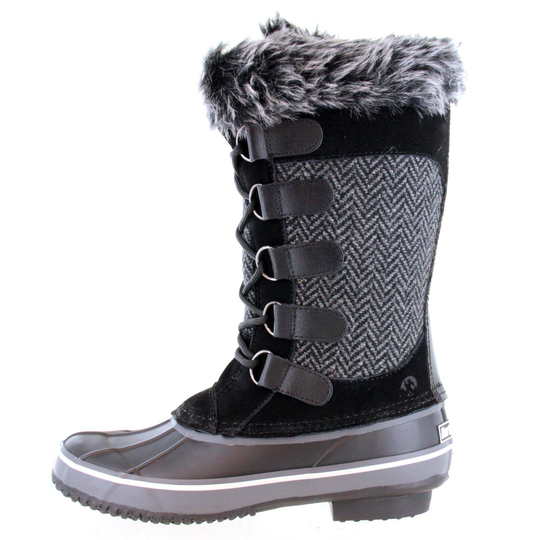 Northside Women's Kathmandu Waterproof B(M) Snow Boot B01N4WXF0C 10 B(M) Waterproof US Charcoal d13dd7