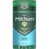 Mitchum Barra Antitranspirante Solida Invisible Advanced Clean Control, 76 g