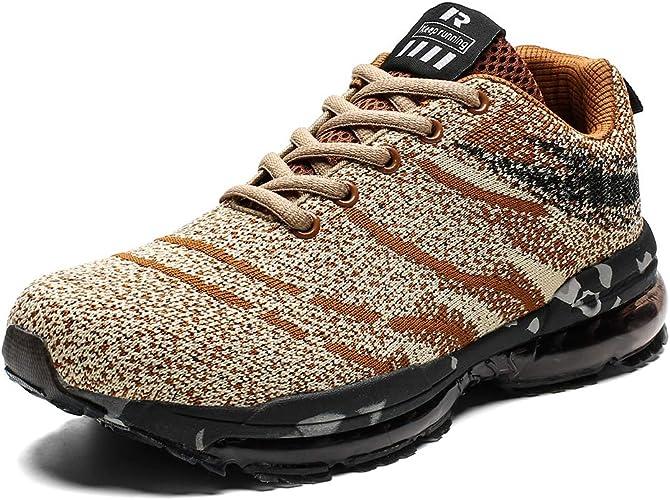 Baskets Chaussures de Sport Athlétique Homme Femme Course Fitness Entraînement Air Sneakers