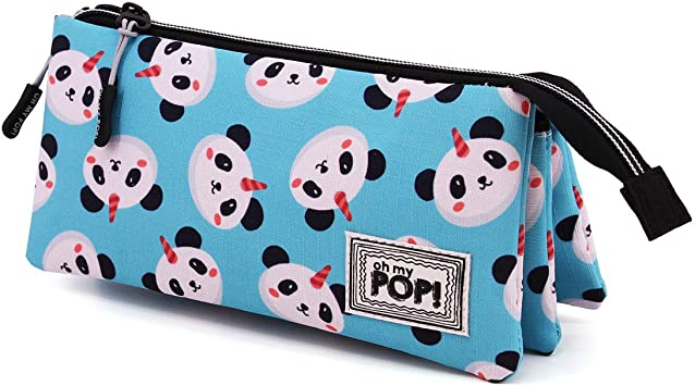 Oh My Pop! Pandicornio - Estuche Portatodo Triple HS, Multicolor, Un Tamaño: Amazon.es: Equipaje