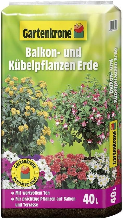 Plantas de balcón y de cubeta (Tierra 40 L Jardín Corona Tierra: Amazon.es: Jardín