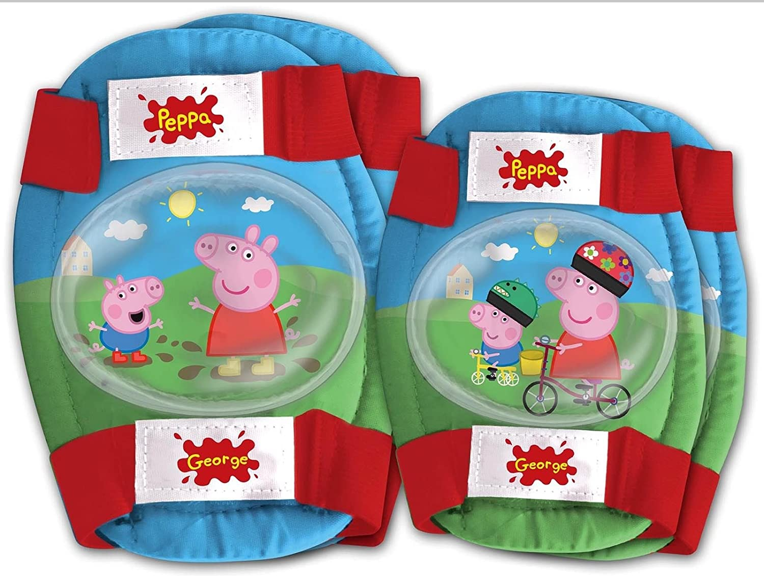 Kit Proteccion Niño Niña Codos Rodillas compatible con Peppa ...
