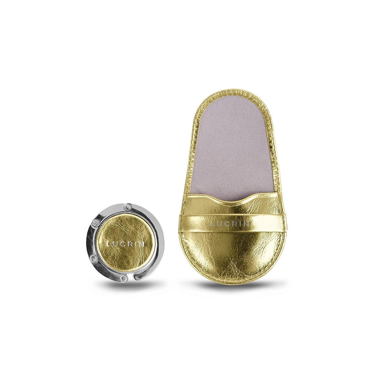 Lucrin - Taschenhalter - Glänzendes Leder