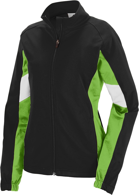 Augusta Sportswear Womens 7724 Sports Apparel Black/Lime/White