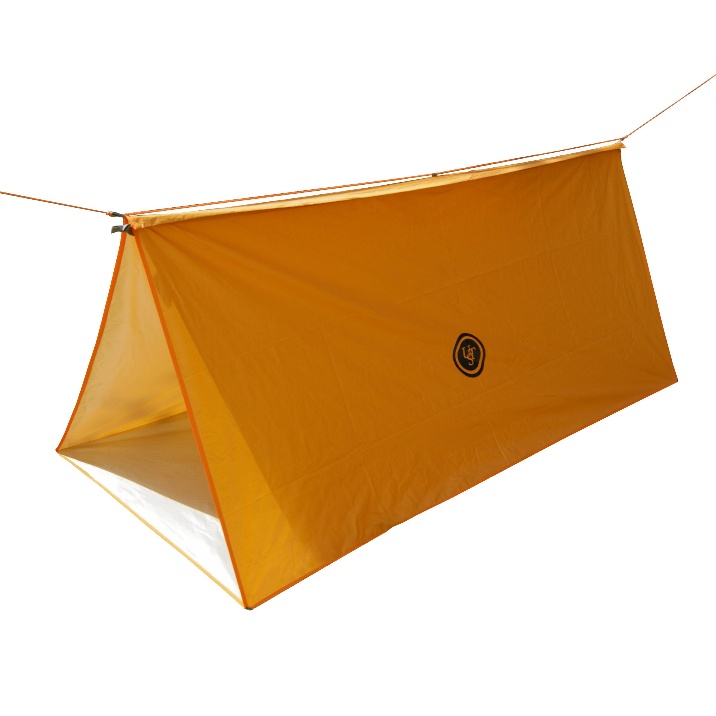 UST Tube Tarp and Camping Shelter with Compact, Multifunctional Use and Reversible and Flame Retardant Construction for Emergency, Hiking, Camping, Backpacking and Outdoor Survival by UST