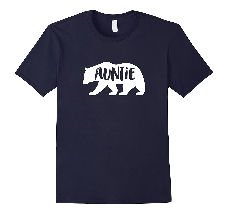 Auntie Aunt Bear t-shirt Tshirt Tee Shirt Matches the Family-Art