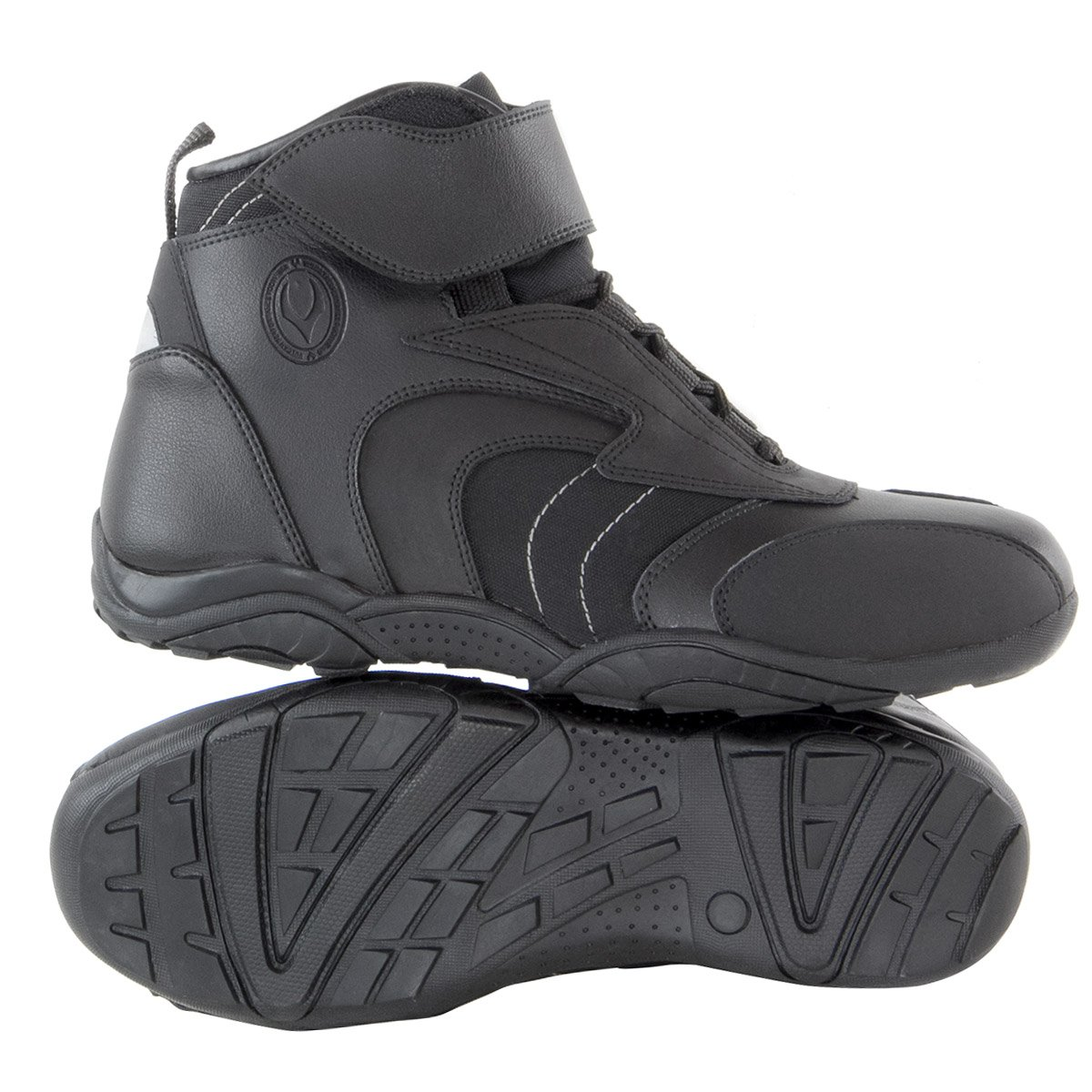 Vulcan V310 Mens Motorcycle Troop Sport Boots - 10