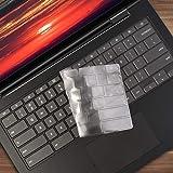 "Lapogy Keyboard Cover Skin for Lenovo chromebook S345 14 inch,S330 14 inch,chromebook Yoga C630 2-in-1 15.6"" Touch-Screen,chromebook S330,Yoga C630 Accessories,Ultra Thin Keyboard Protector(TPU)"