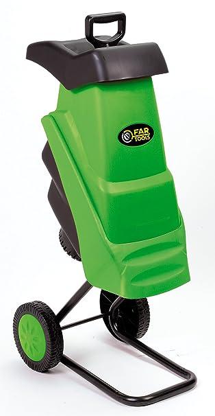Fartools 175031 - Trituradora de residuos vegetales (2400 W ...