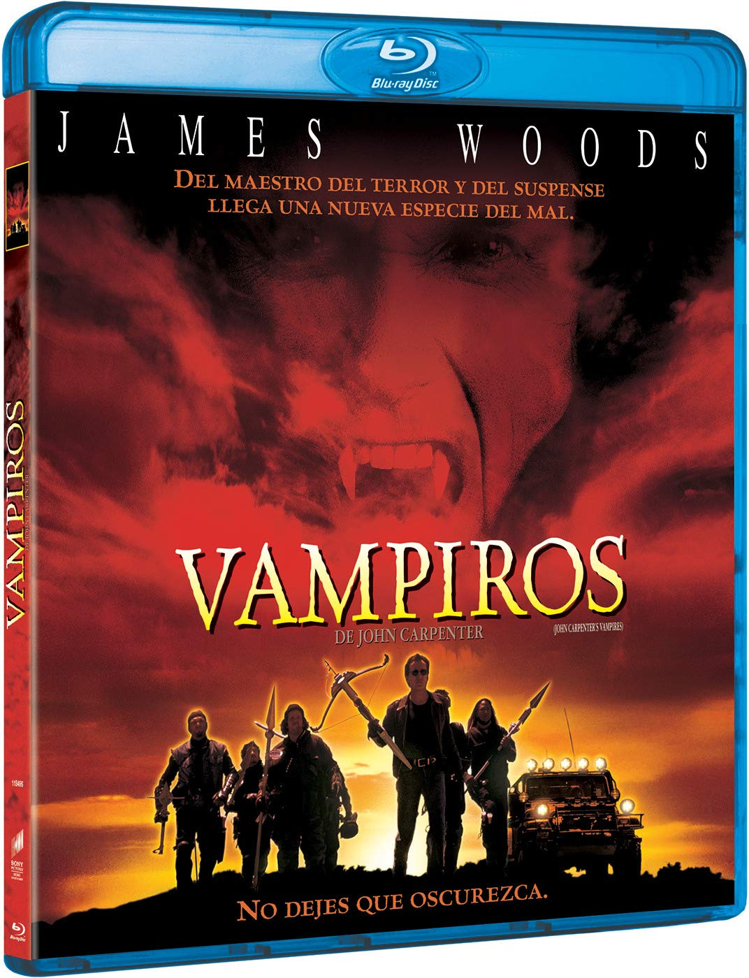 Vampiros De John Carpenter [Blu-ray]: Amazon.es: James Woods, Daniel Baldwin, John Carpenter, James Woods, Daniel Baldwin, JVC Entertainment Networks: Cine y Series TV