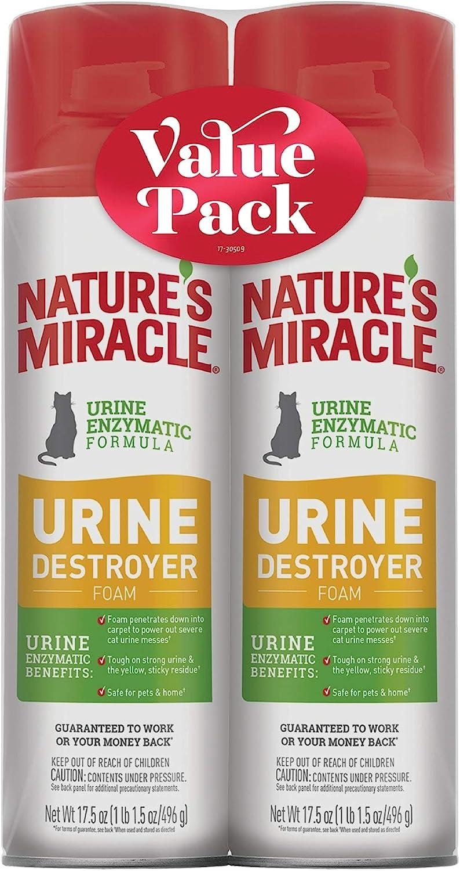 urine destroyer foam