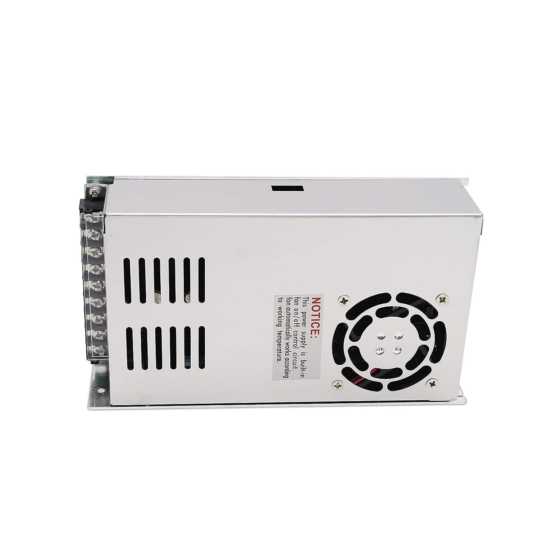 250V a 12V DC 12.5A POPP Transformador de Voltaje Alimentaci/ón de Interruptor para Tira de LED AC 175V 250W