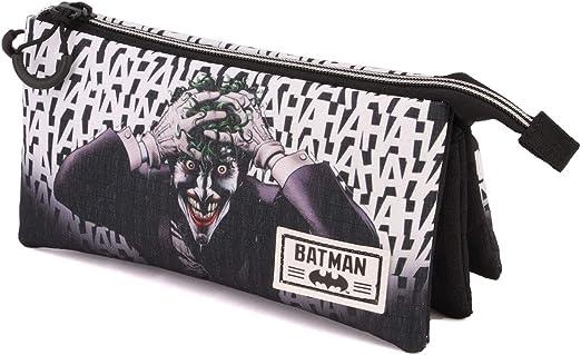Karactermania Batman Killing Joke-astuccio Portatutto Triplo HS Estuches 24 Centimeters Multicolor (Multicolour): Amazon.es: Equipaje