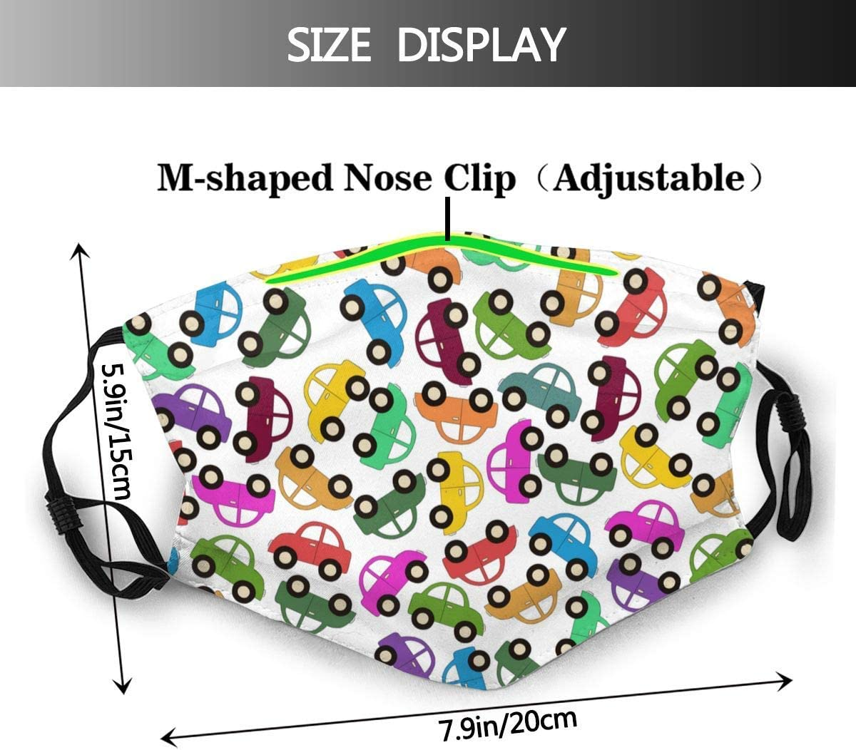 819 SFKKL Drive and Speed Modern Creative Dust Washable Reusable Filter and Reusable Mouth Warm Windproof Cotton Face