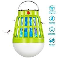 BLQH Camping Lantern 2 In 1 LED Night Bulb Lamp w/bug Zapper