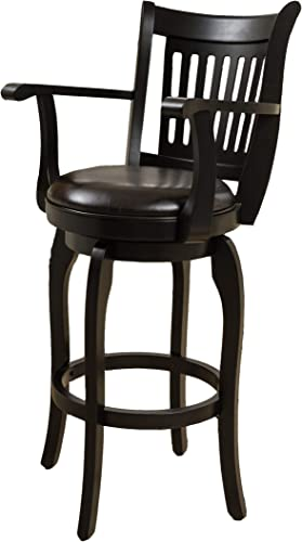 Christopher Knight Home 296819 Prescott Leather Swivel Bar Stool