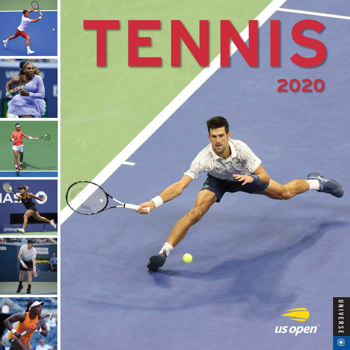 Calendrier Tennis 2021 Tennis 2020 Wall Calendar: The Official U.S. Open Calendar: United