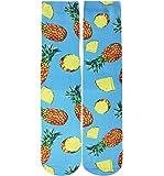Mens Fun Crazy 3D Cute Galaxy Animal Food Fruit Novelty Athletic Tube Crew Socks