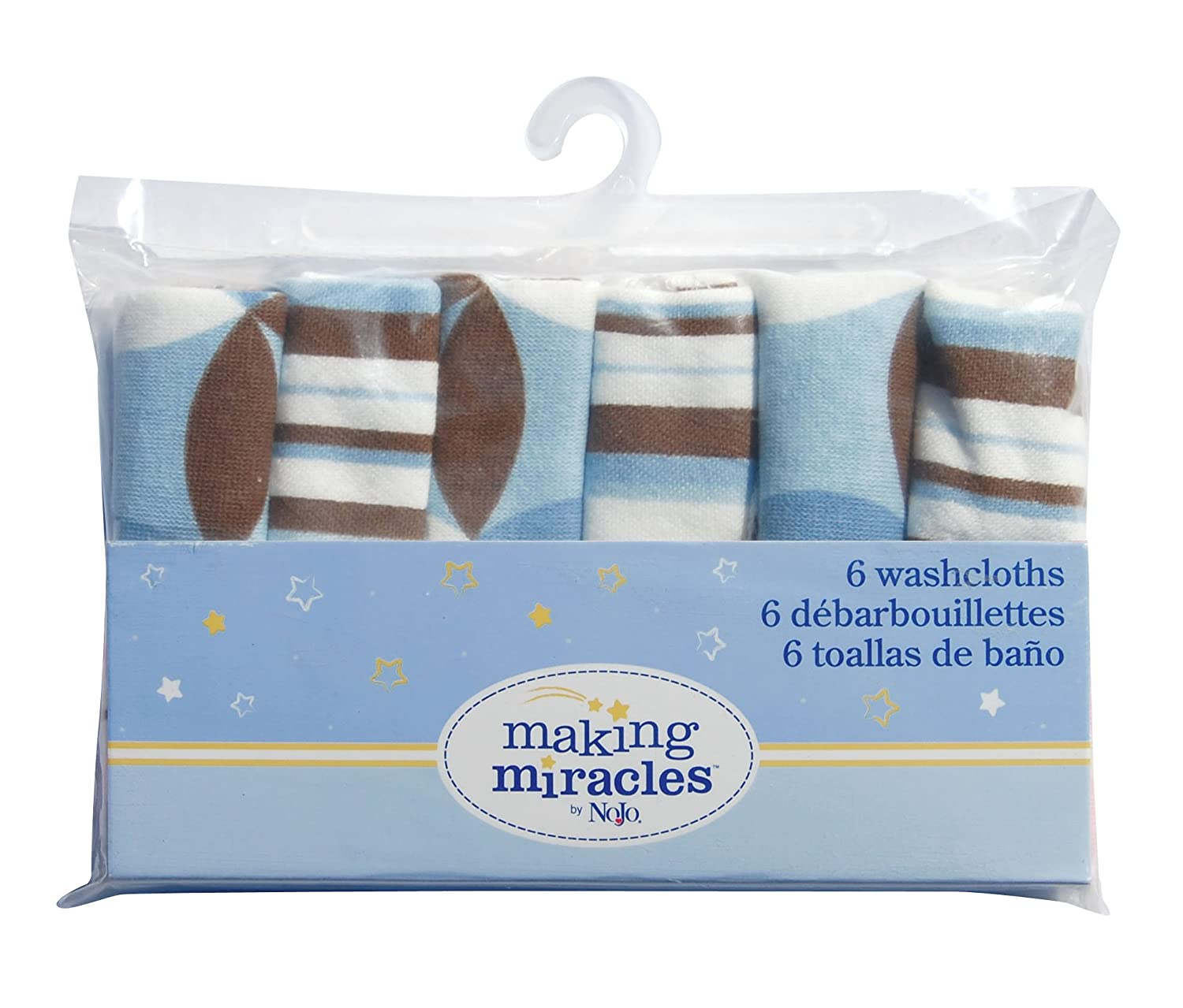 Amazon.com : Neat Solutions 6 Pack Printed Knit Terry Washcloth Set, Boy (Discontinued by Manufacturer) : Baby Washcloths : Baby