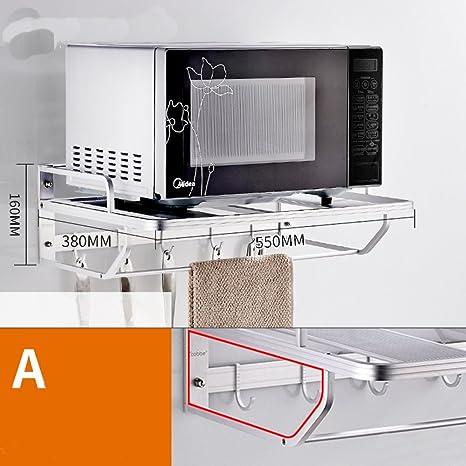 XQY - Estantes de cocina para montar en la pared, soportes para ...