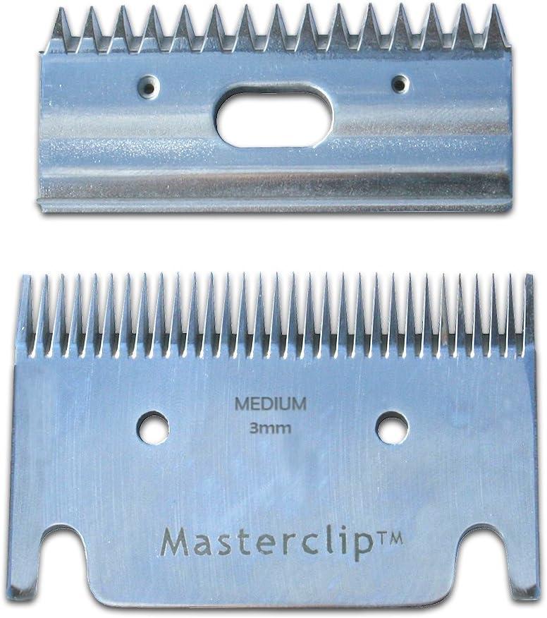 Cuchillas Masterclip para cortar el pelaje del caballo, para Liveryman, Calypso, Heiniger, Dextella, Maxtra
