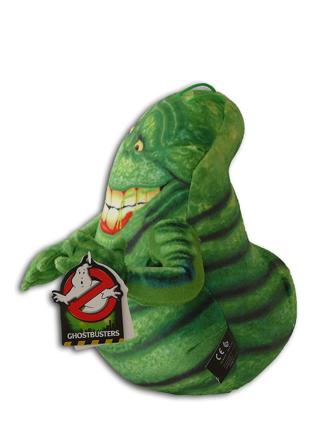 b5ec088cd75 Slimer Ghost 10   Soft Toy Serie Ghostbusters 3 Green Scary Slime Mascot  Original Plush Doll Toy Character Serie  Amazon.co.uk  Toys   Games