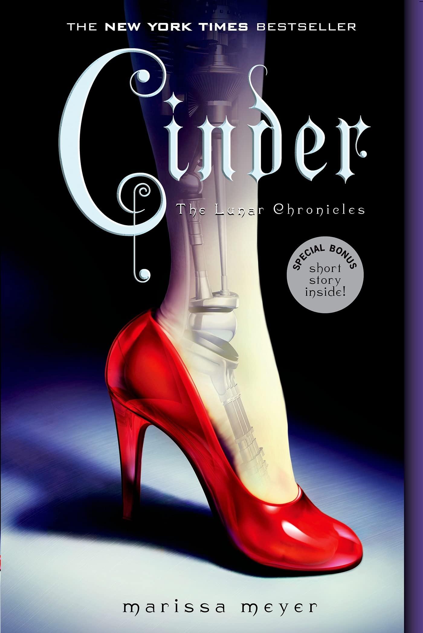 Amazon.com: Cinder: 9781250007209: Marissa Meyer: Books