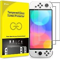 JETech Protector Pantalla Compatible con Nintendo Switch (Modelo OLED) Versión 2021 de 7 Pulgadas, Película de Vidrio…