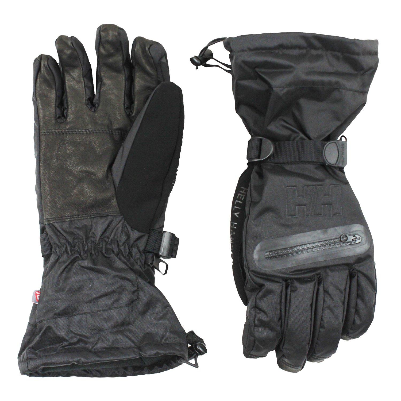 Helly Hansen Men's Reinier Ski Gloves (Medium, Black)