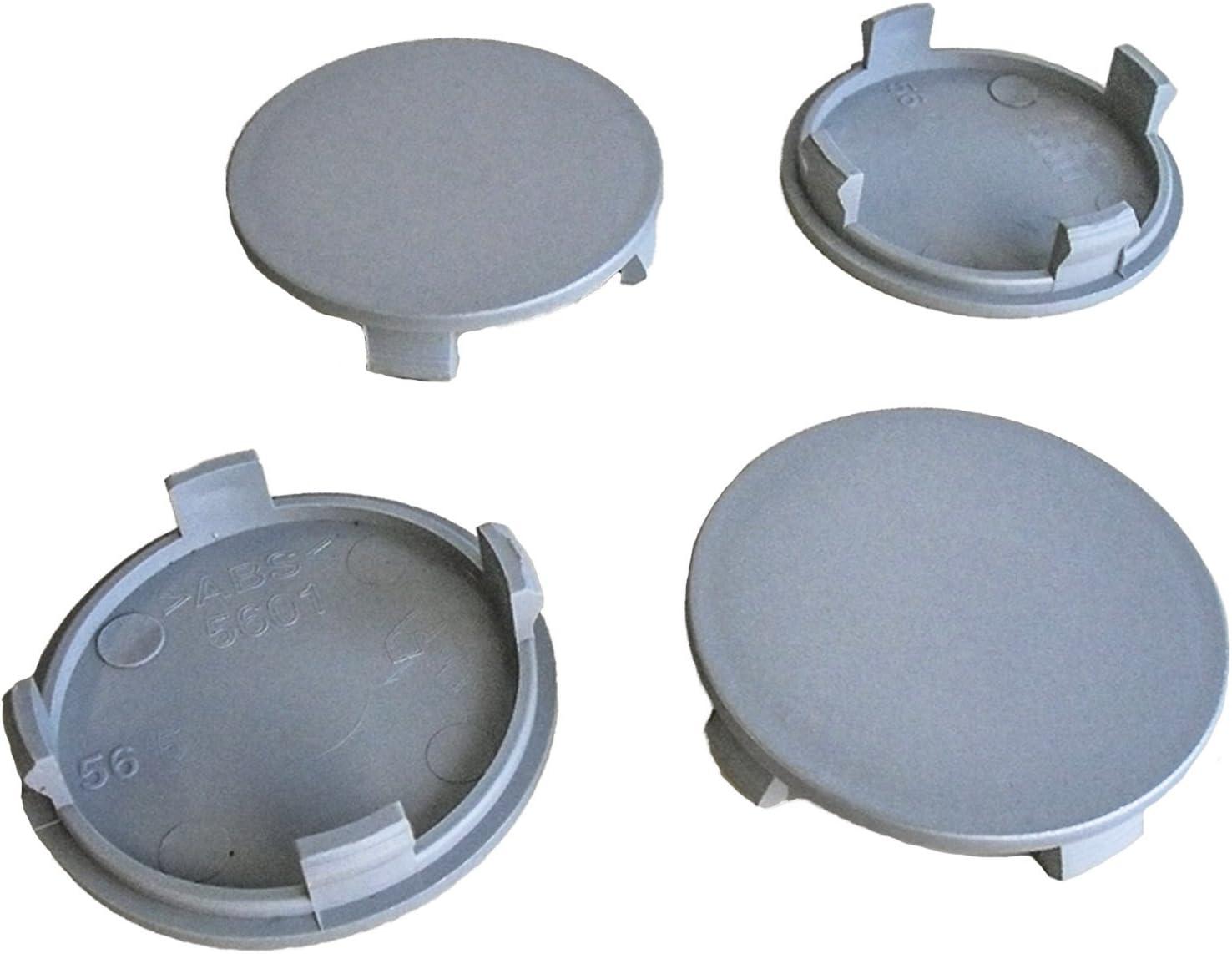 4x esterno 56 mm interno 52 mm COPRIMOZZO CERCHI Coperchio Mozzo Ruota Coperchio Nuovo