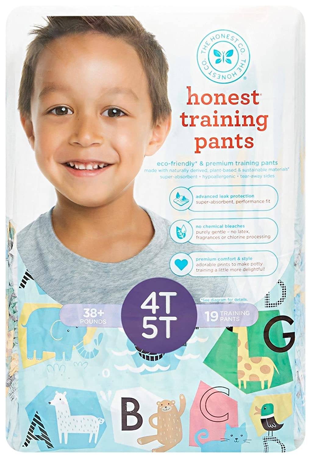 Amazon.com: Honest Training Pants, Unicorns, 2T-3T, 26 Count: Health & Personal Care