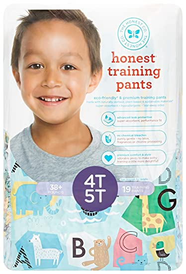 Amazon.com: Honest Training Pants, Unicorns, 2T-3T, 26 Count: Health & Personal Care
