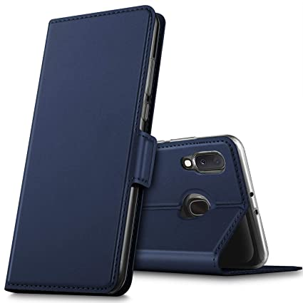 Modisch Schwarz Samsung Galaxy A20e Klapph/ülle Handytasche Case f/ür Samsung Galaxy A20e Handy H/üllen MOBESV Handyh/ülle f/ür Samsung Galaxy A20e H/ülle Leder
