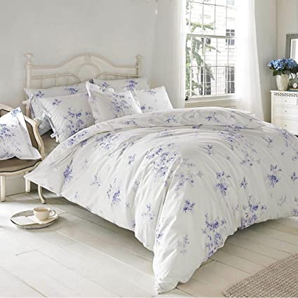 Superieur Ashley Wilde Holly Willoughby Olivia Wedgewood Blue UK Double/US Full  Unfilled Duvet Cover