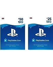 PlayStation PSN Card 75 GBP Wallet Top Up | PSN Download Code - UK account