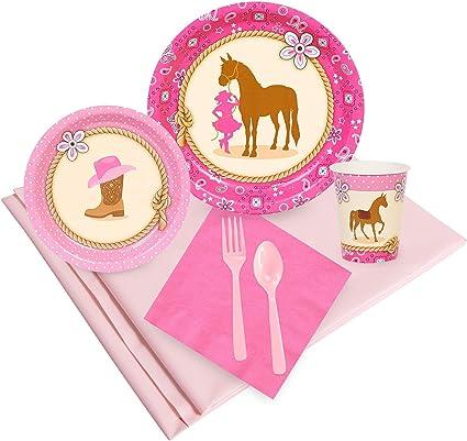 Amazon.com: Kits de cumpleaños Express Western Cowgirl 16 ...