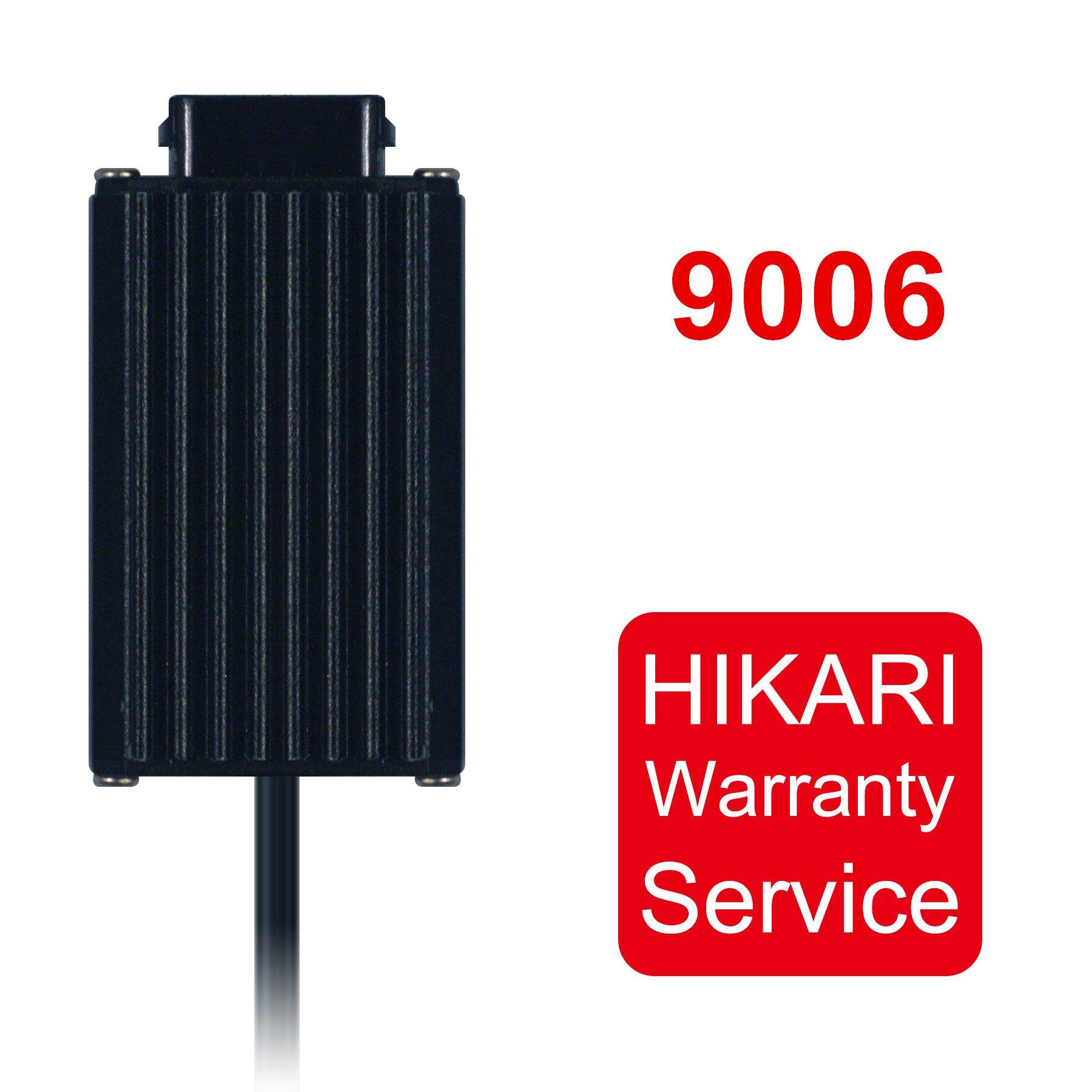 HIKARI Led Headlight Bulb Ballast,Warranty Service(Single Pack) (HB4(9006))