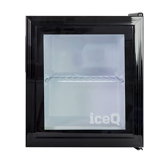 Iceq 36 Litre Quality Counter Top Glass Door Display Mini Freezer For Ice Cream Co Uk Large Appliances