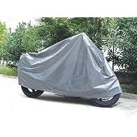 Cubierta Impermeable de la Motocicleta para Exterior, Resistente al Agua Polvo Lluvia Viento excrementos de Aves, para…