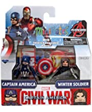 Marvel Minimates Series 55 Captain America 2 Movie Classic Cap /& Winter Soldier