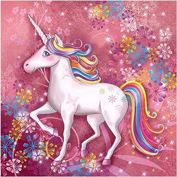 5D DIY Full Drill Diamond Painting Kits Unicorn Cross Stitch Embroidery Gifts