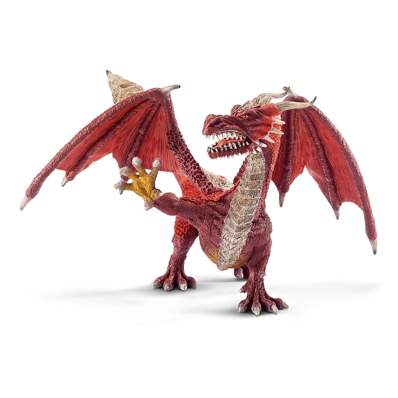 Schleich Dragón guerrero figura