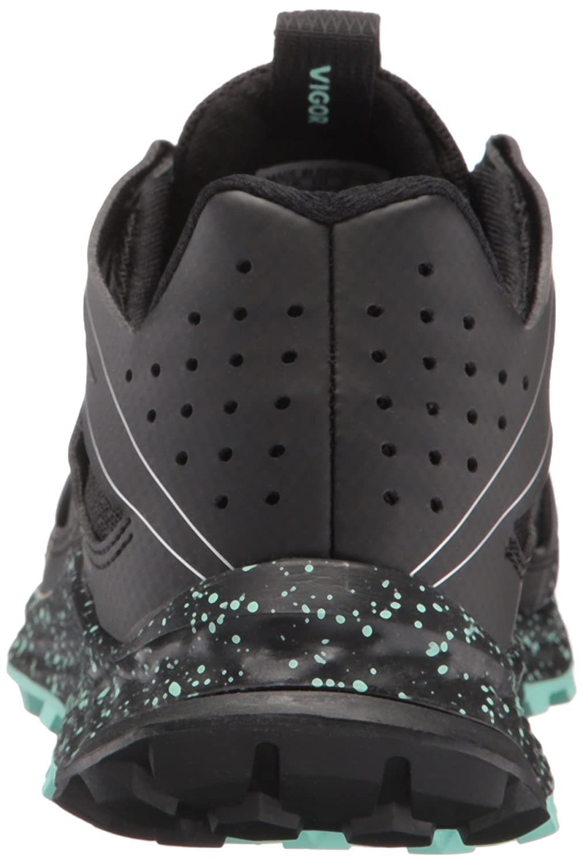 adidas Trail Women's Vigor Bounce W Trail adidas Runner B01H7YC5RM 5 B(M) US|Black/Easy Green/White f77744