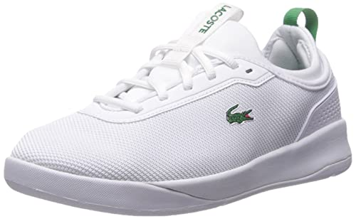 Lacoste Womens LT Spirit 2.0 317 1 Sneaker, White/Green, ...