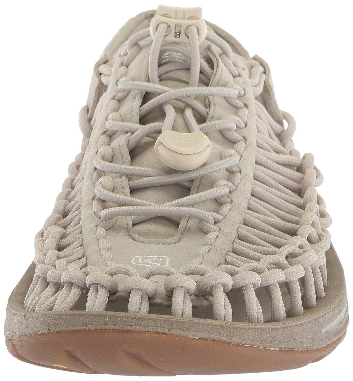 KEEN Women's Uneek-W Sandal B06ZYHGGWG 9.5 B(M) US|Agate Grey/Silver Birch