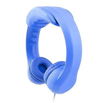 ... cable auriculares para niños espuma EVA con 85 db limitador de sonido y almohadilla de extensión extraíble seguro para los niños: Amazon.es: Electrónica