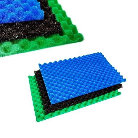 Foam Conversions - Set de 3 filtros de espuma para estanque, 43 x 28 cm: Amazon.es: Productos para mascotas