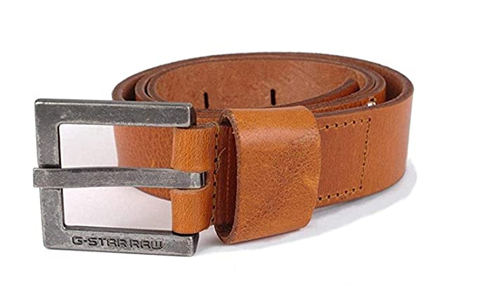 d8f871219ac G-STAR RAW - Ceinture - Homme Marron cognac M  Amazon.fr  Vêtements ...