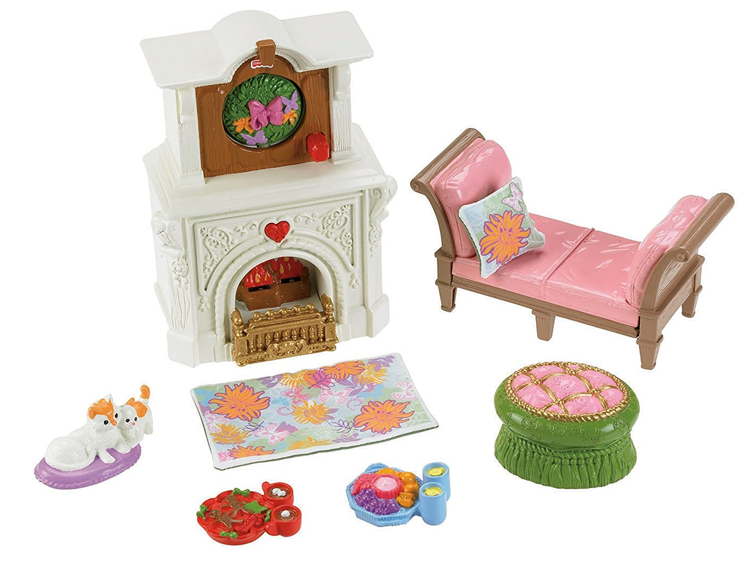 Elegant Amazon.com: Fisher Price Loving Family 2 In 1 Seasonal Room Set: Toys U0026  Games